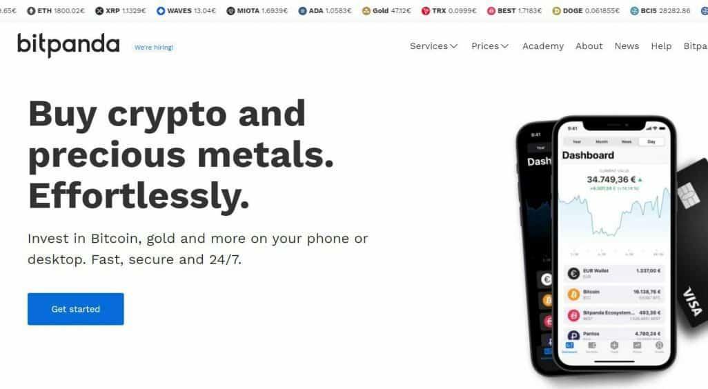 Beleggen in crypto bij Bitpanda - dejongebelegger