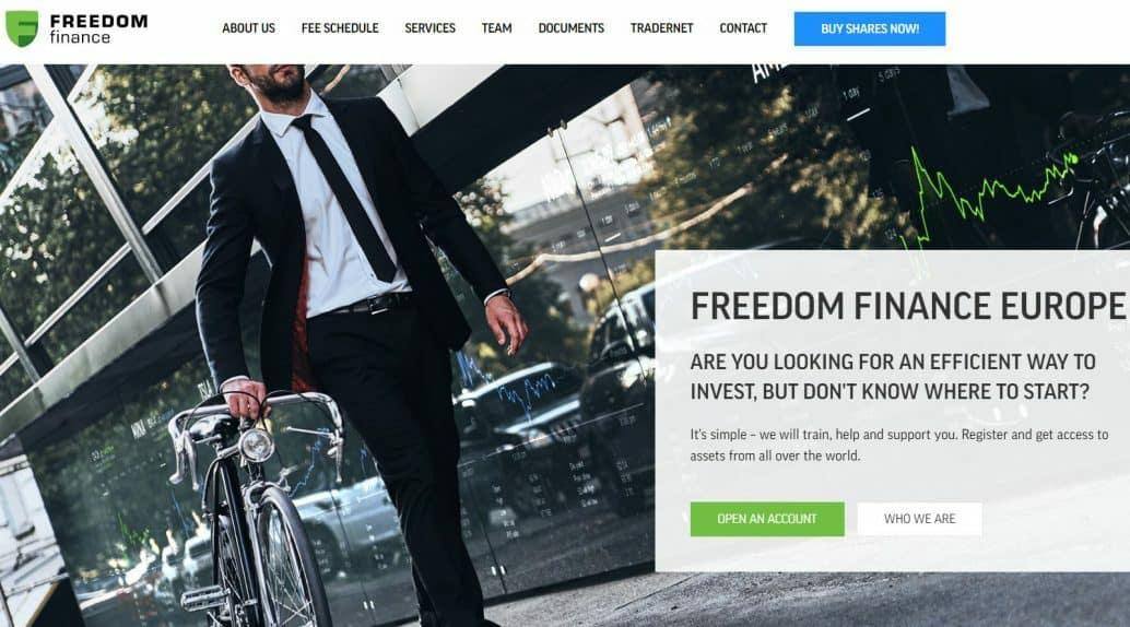 Beleggen in een IPO Freedom Finance