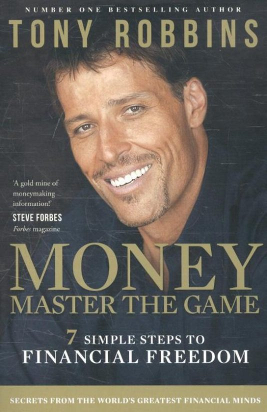 boeken over personal finance - Money master the game tony robbins