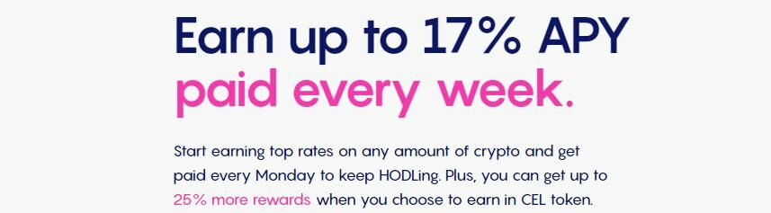 Crypto staken bij Celsius Network Promo Codes2